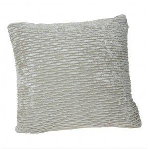Cushion Fabric Square Cream Color Design Classic