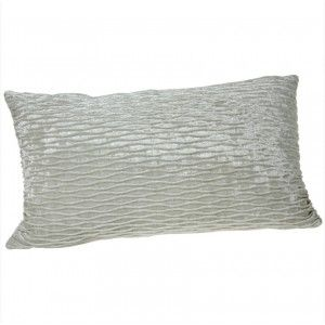 Cushion Fabric Rectangular Cream Colored Classic Design