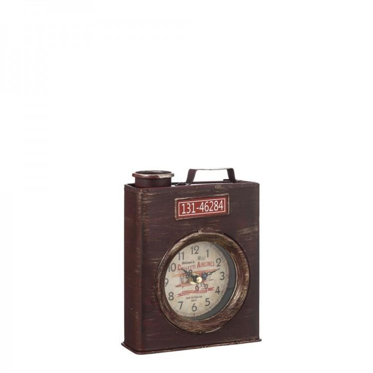 Reloj de Mesa Bidón Diseño Vintage