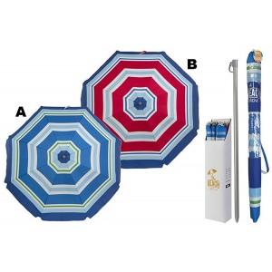Sombrilla Parasol Original Para Playa Piscina o Jardín 2 Modelos