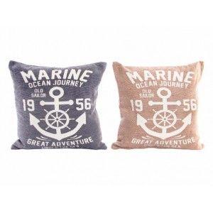 Cojín Original Marine Algodón Natural y Poliéster 2 Colores