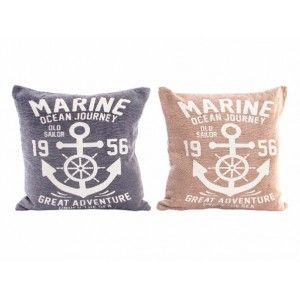 Cushion Original Marine Natural Cotton and Polyester 2 Colors