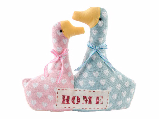 Sujetapuertas Original Pair of Ducks Textile Home
