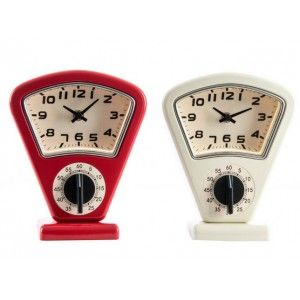 Table clock Timer Original Design Metal 2 Colors