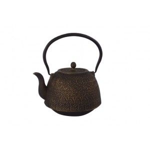 Teapot of Cast Steel with Filter for Infusions Ethnic 1,3 L