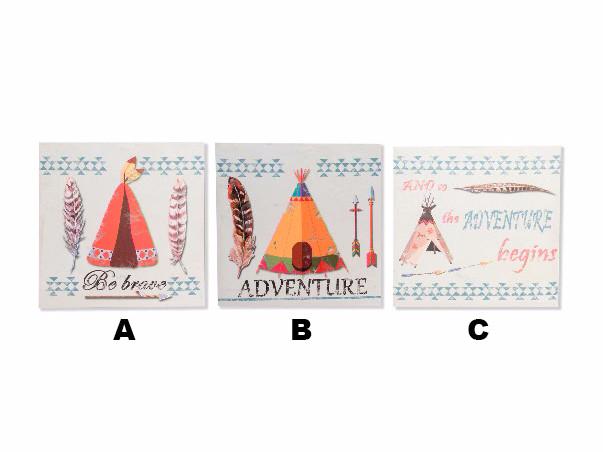 Box Canvas-Original Design Tribal Adventure Three Models Decoration