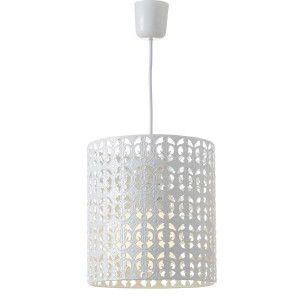 Ceiling lamp White Metal Ethnic Design