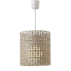 Ceiling light Metal Beige Ethnic Design