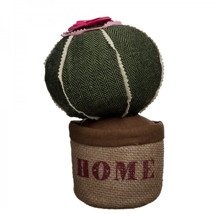 Tope de Puerta Cactus Verde en Textil Modelo Home