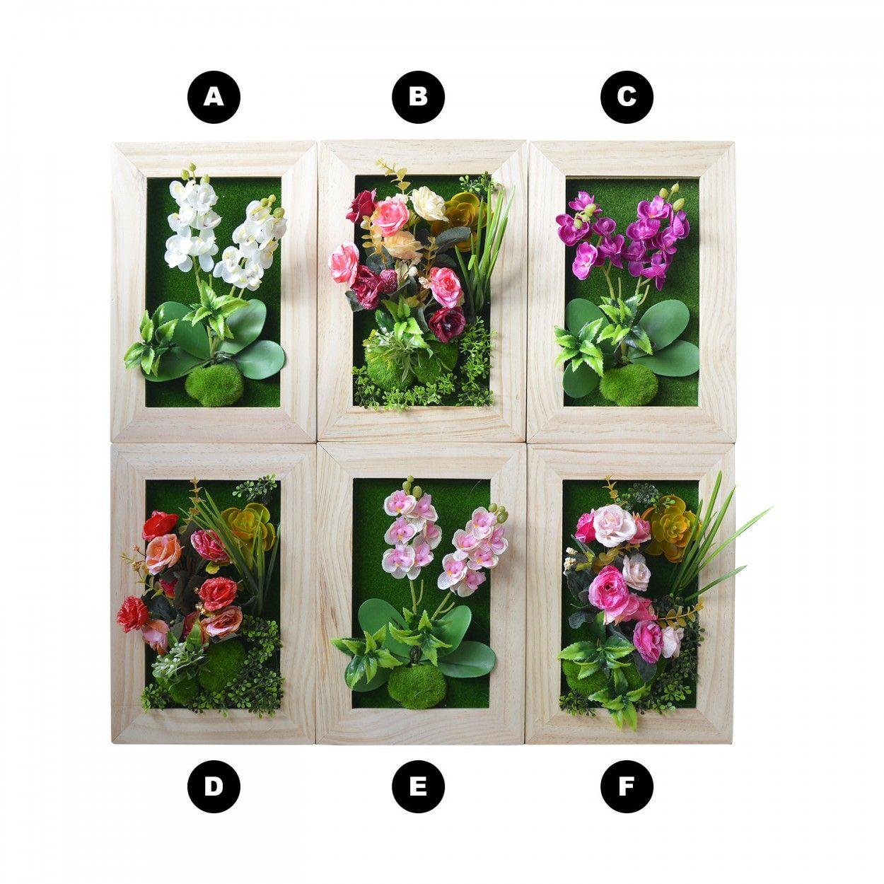 Jard n vertical pared plantas artificiales hogar y m s for Cuadros diseno para salon