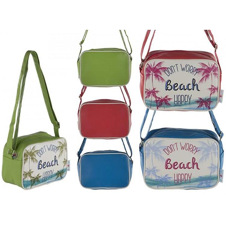Bolsa Térmica de Playa con Asa y Cremallera Tres Colores Hogar y Más