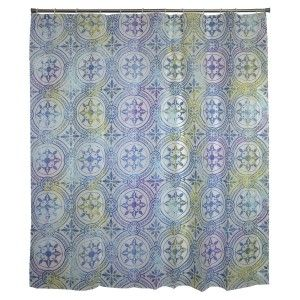 Shower curtain, Shower Fabric, Peva, Ethnic Design Home and More