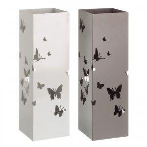 Paragüero Metálico Diseño Moderno Mariposas, Hogar y Más
