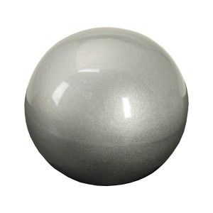 Ceramic ball Silver Bright for Home Decoration and More