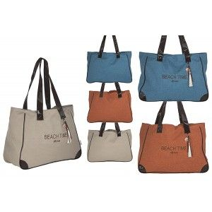 Beach bag with Handle Stylish Original Design Three Colors Home and More