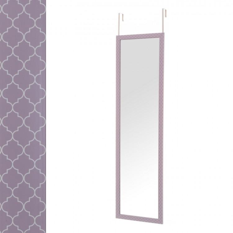 Espejo para Puerta Malva Rectangular Diseño Mosaico Original Hogar y Más