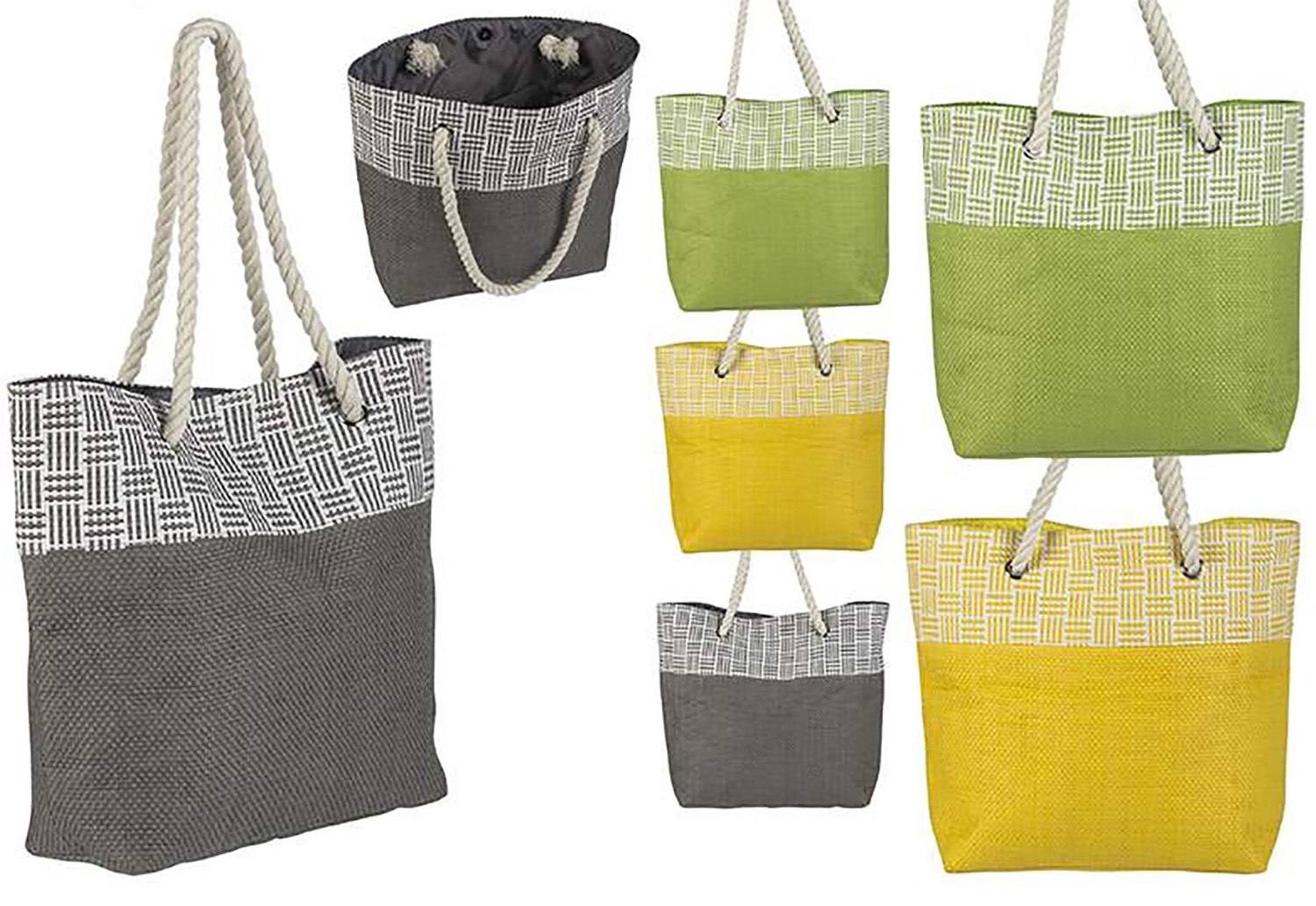 Beach bag with Handle Modern Design Original Three Colors, Home and More