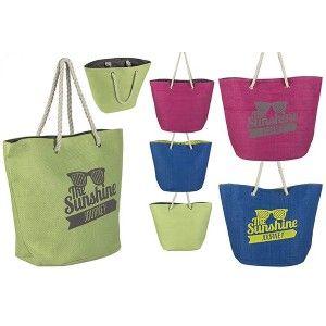Beach bag with Handle Original Design Three Colors Home and More