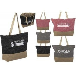 Beach bag with Handle Summer Design Three Colors Home and More