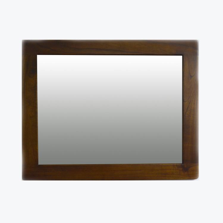 Espejo Barcelona de Madera. Diseño Robusto y artesano. Hogar y mas