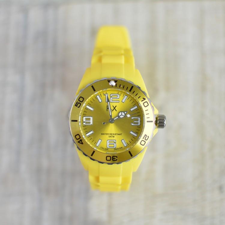 Reloj de Pulsera Amarillo H2X Femenino Lady Hogar y Más
