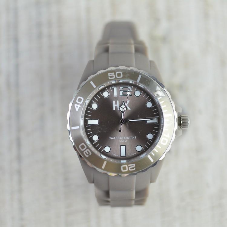 Reloj de Pulsera Marrón H2X Unisex Hogar y Más