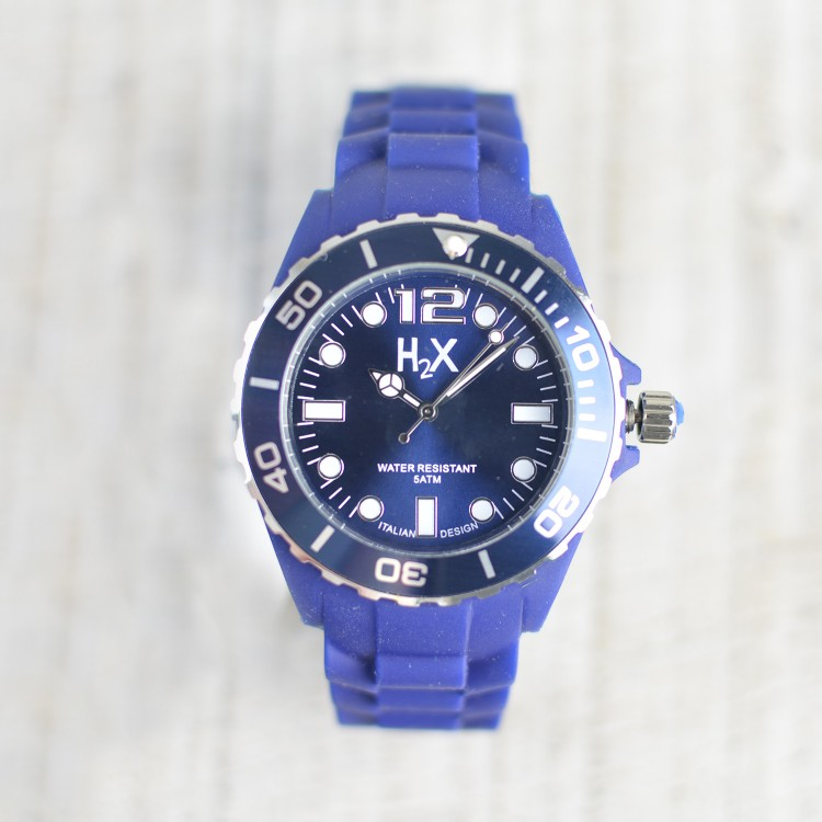 Reloj de Pulsera Azul H2X Unisex Hogar y Más