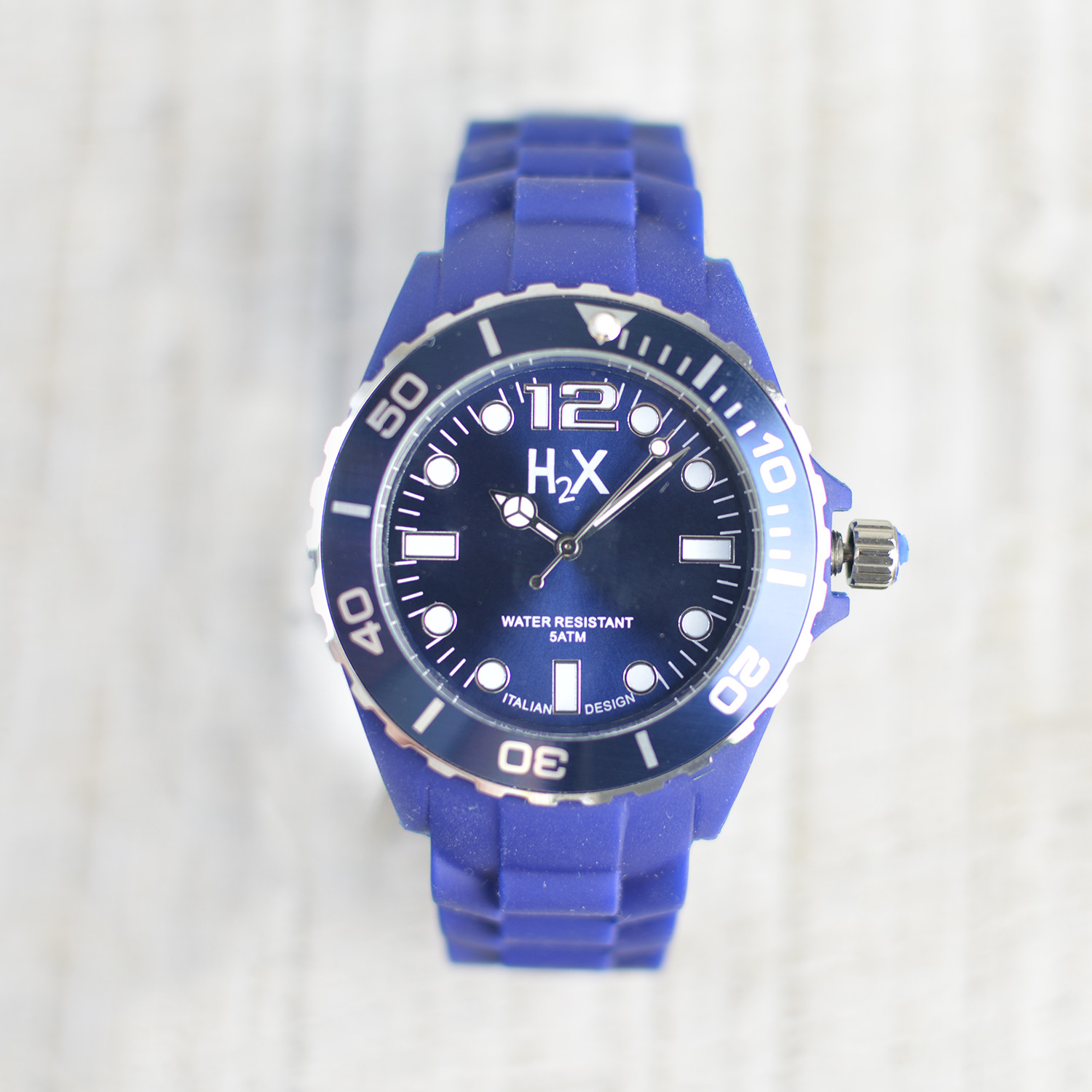 Wrist watch Blue H2X Unisex Home, and More