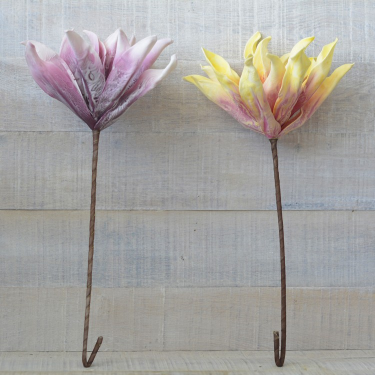 Flor artificial de Goma Eva acolchada (65cm) Dos colores, Hogar y mas