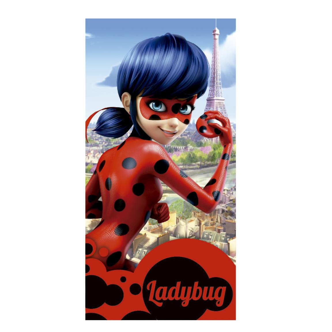 Toalla infantil Edición Ladybug en París Hogar y más