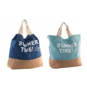 Bolso cuadrado con asas. Edición Summer Time! Diseño verano. Hogar y más.
