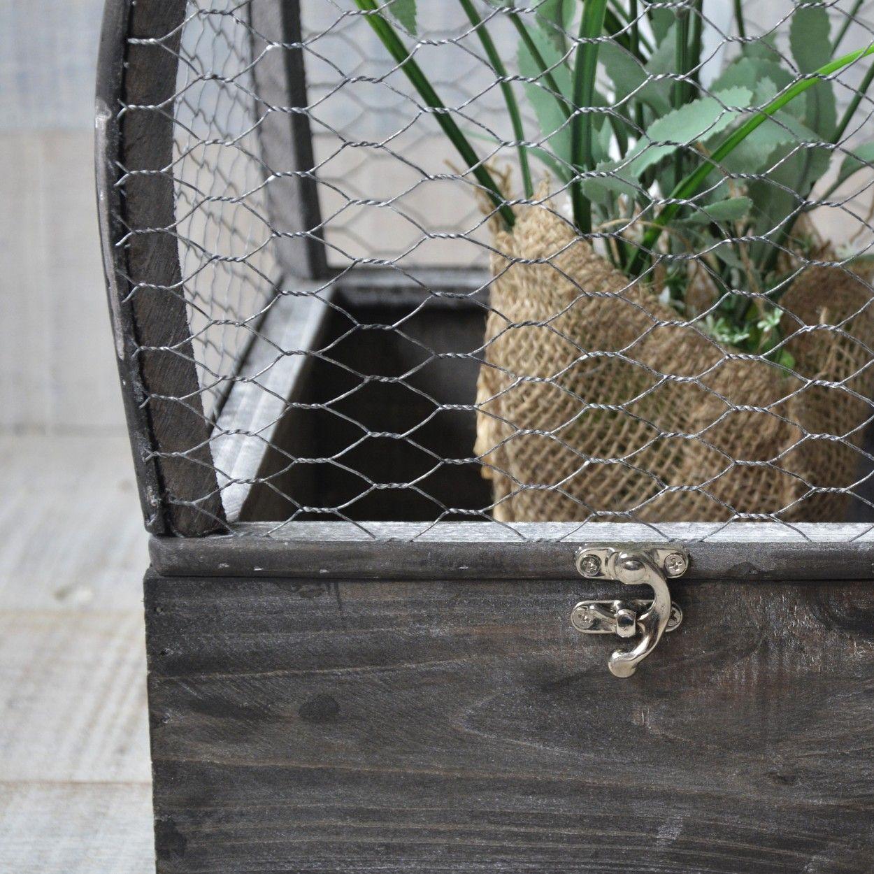 Jaula madera natural original para decoraci n juego hogar - Decoracion original hogar ...