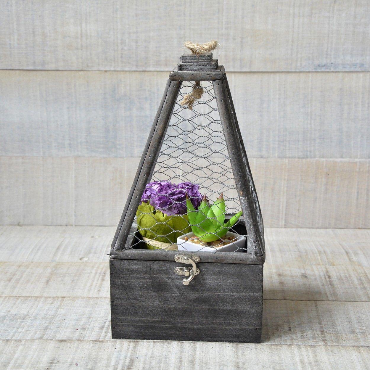 Jaulas para decoraci n en madera natural dise o original - Decoracion original hogar ...