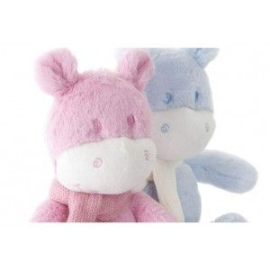 Blanket with hipopotame first teddy. Children's products. Home and more