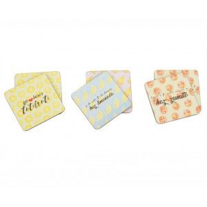 Coasters Set of 6. Positive Design. Home and more.