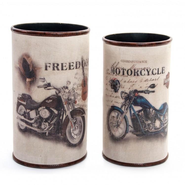 Paragüero Vintage  Diseño de Harley Hogar y más
