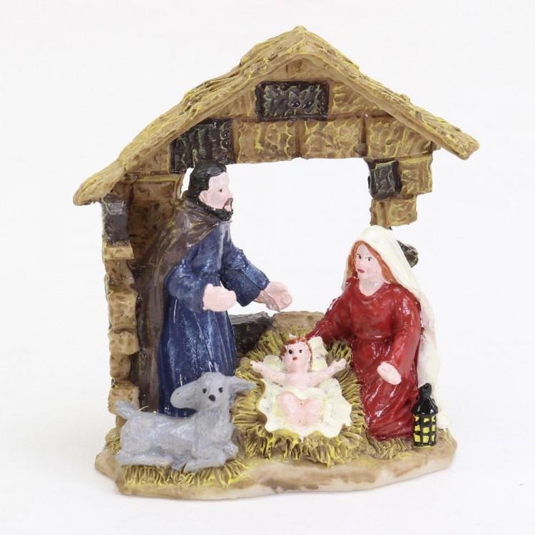 Belén Navideño Tradicional de resina. Hogar y Más