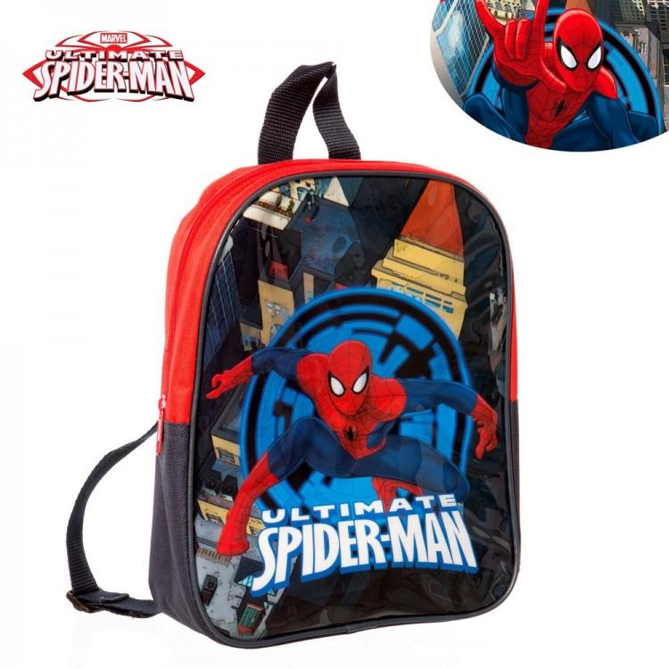 Hogar y Más - Mochila niño Spiderman. Modelo Marvel.