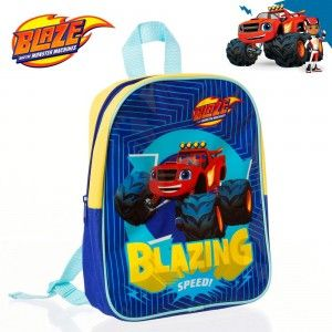 Home and more - Backpack with the character Blaze. Design Speed!