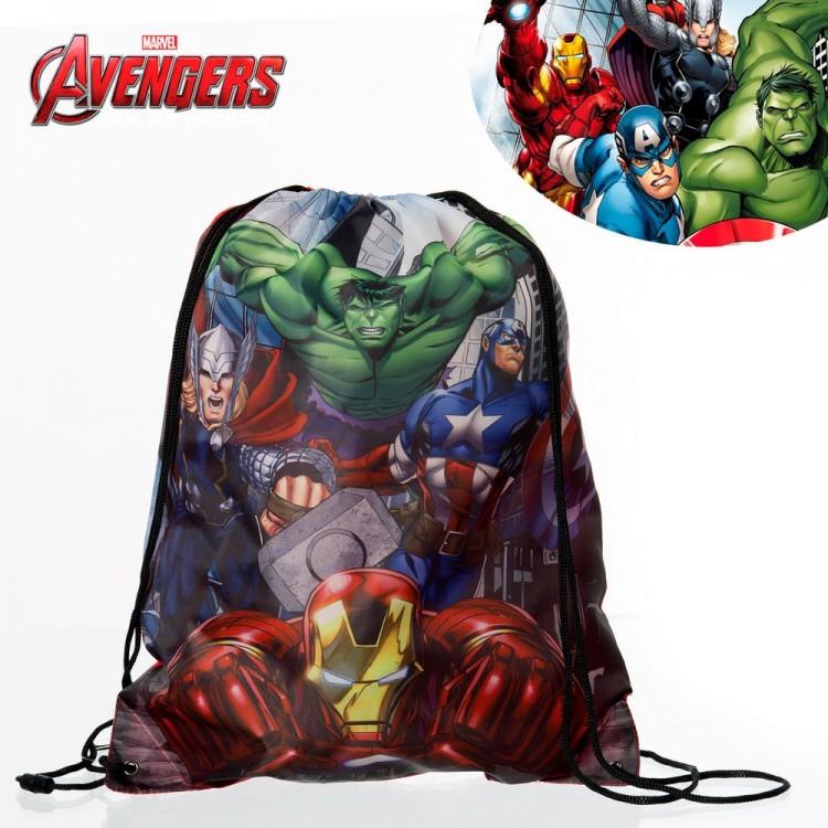 Hogar y más - Mochila- saco con el personajes de Los vengadores- Edición Marvel.