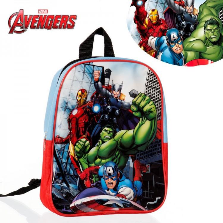Hogar y más - Mochila con los personajes de Los Vengadores. Edición Marvel.