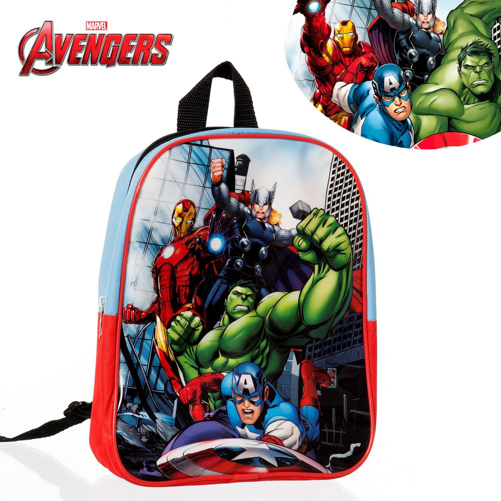 Home and more - Backpack with characters from the Avengers. Edition Marvel.