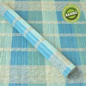 Salvamantel de Bambú Natural Mantel Individual Diseño Étnico 6 Unidades Hogar y Más