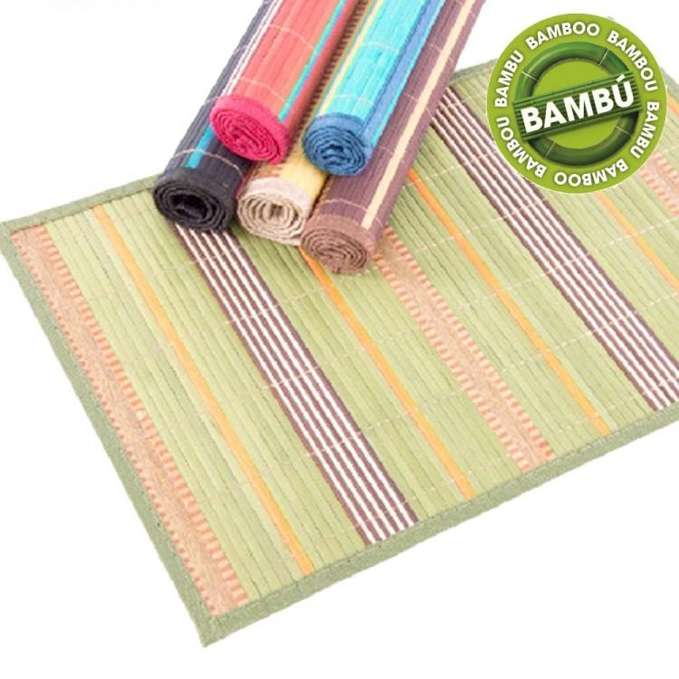 Mantel individual de bambú (45x30 cm)