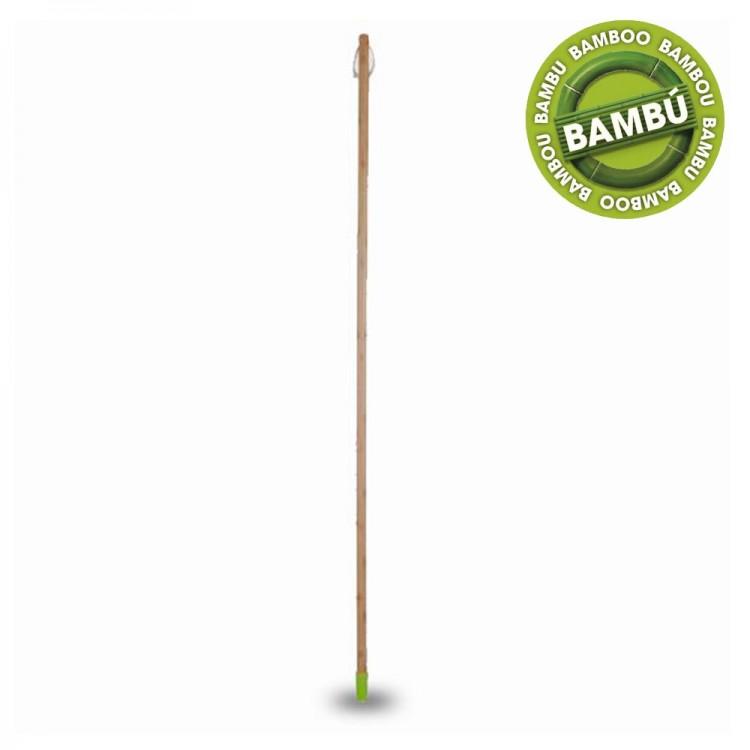 Palo de Cepillo de Barrer de Bambú 120 cm