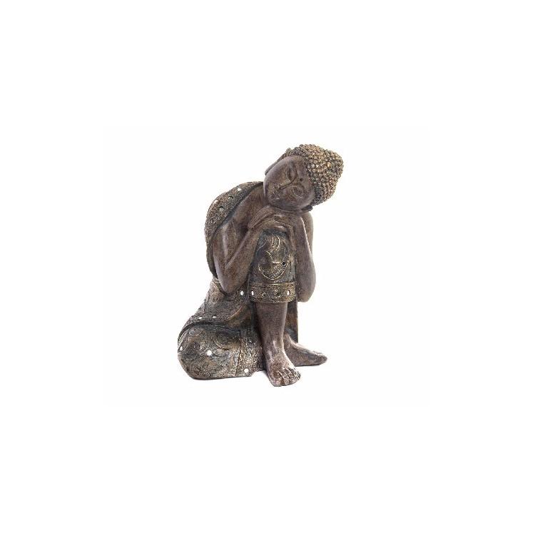 Figura de Buda meditando Feng Shui de poliresina- Hogar y Más