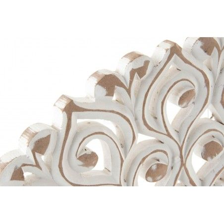 Retablo Mural de Pared circular de Madera tallada elegante France - Hogar y Más