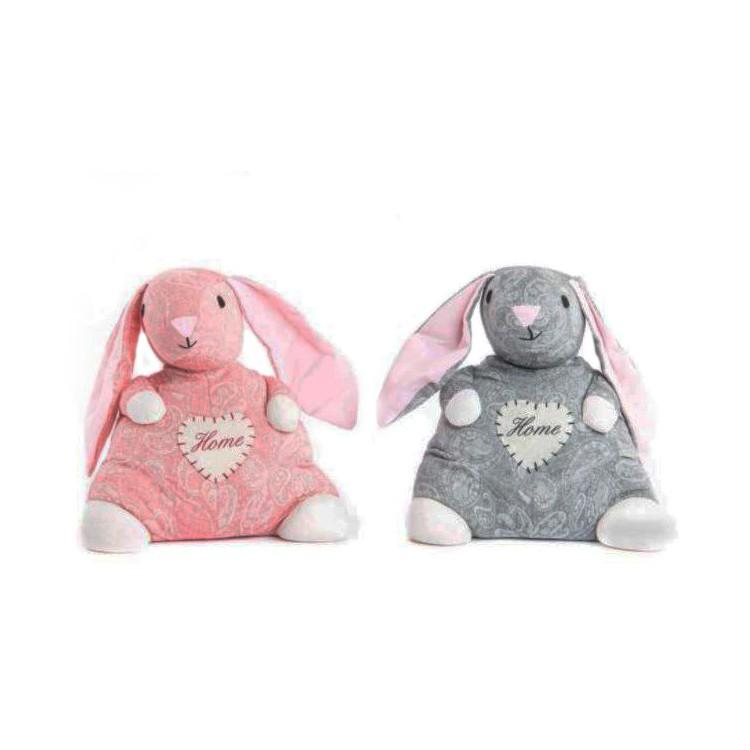 Sujeta puerta de Tela. Modelo conejo. Edición Home Rabbit. Hogar y mas.