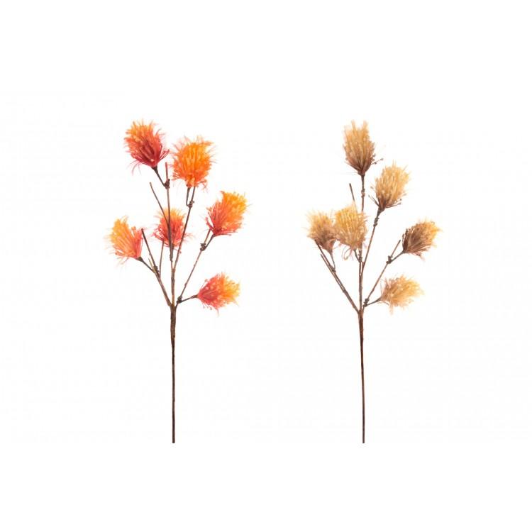 Hogar y Más - Flor artificial en rama decorativa Triticeae en dos colores
