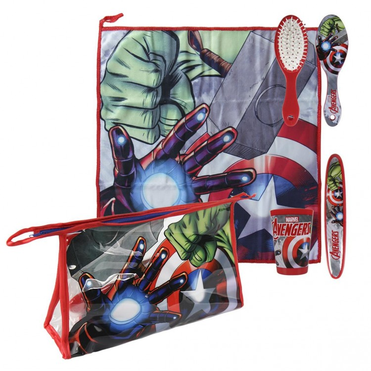 Hogar y Más - Estuche de comedor muy práctico con accesorios y diseño de Marvel Avengers